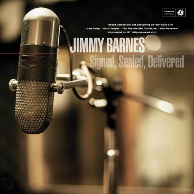 "Signed, Sealed, Delivered 12"" Vinyl Soul Box Set by Jimmy Barnes"